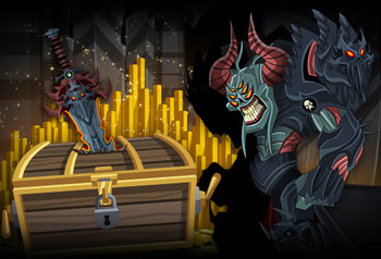 nulgath birthday items in online mmo adventure quest worlds