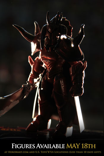 Sepulchure Collector Figure