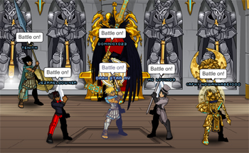 Aranx items with Dominic1023 and friends