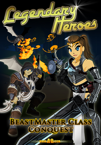 Upgrade in Online Roleplaying Game for Beast Master Class