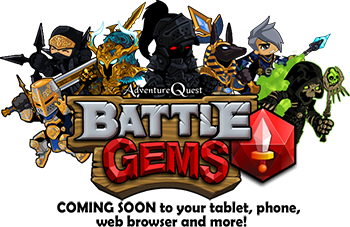 Battle Gems Gear Poster