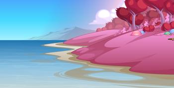 Beleen pink sand beach