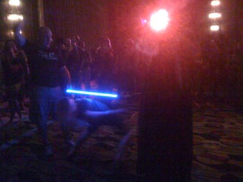 Lightsaber limbo