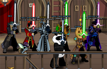 5th Upholder Star Swords in online video game AdventureQuest Worlds