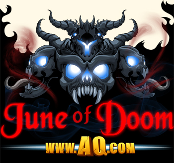 Dage the Evil June of Doom in online adventure games
