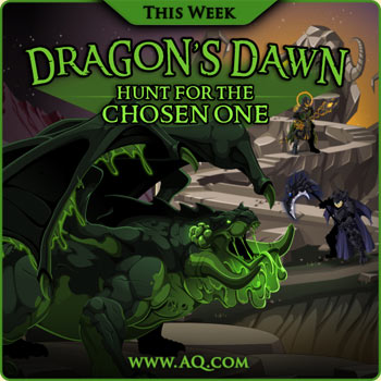 New Game update Dragon's Dawn in online fantasy game Adventure Quest Worlds