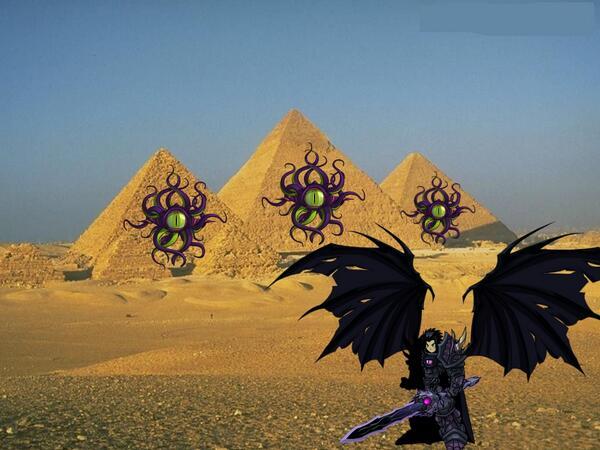 Drakath egypt chaos