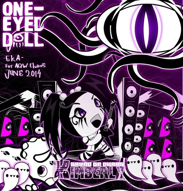 one eyed doll chibi art