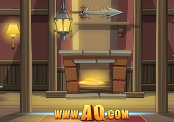 Warm Fireplace in kids games online