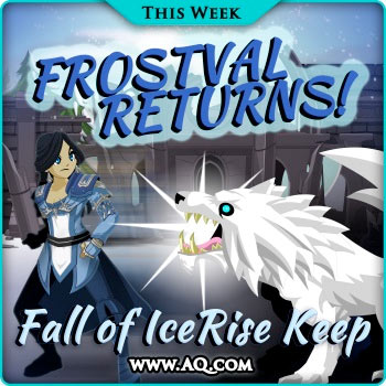christmas event online rpg frostval seasonal rare items