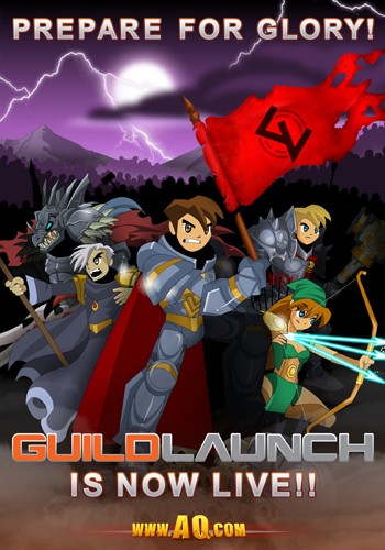 Guild Launch AdventureQuest Worlds