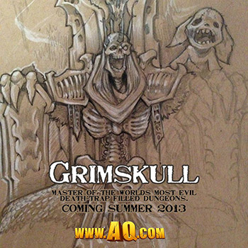 Grimskull is coming to AQWorlds!