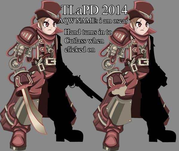i am oscar cyborg naval commander