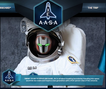 Send J6 to Space with Axe AASA