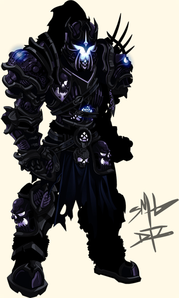 Dage Legion Champion Armor in online adventure game