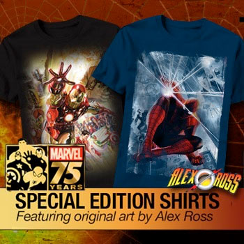 Official Marvel T-Shirts now at HeroMart online geek store