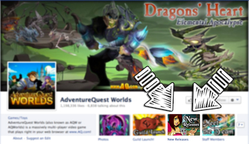 New Video Game releases custom facebook tab created by Beleen