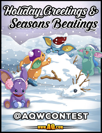Holiday contest fan art mmo game adventure quest worlds