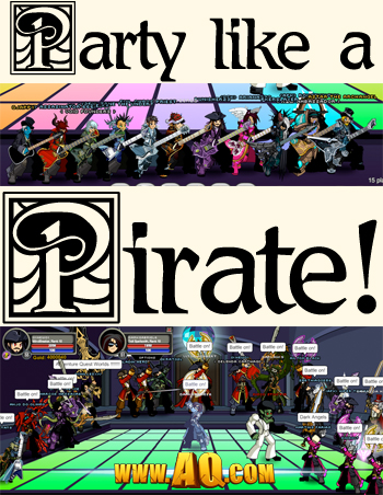 Party like a Pirate on Talk Like A Pirate Day