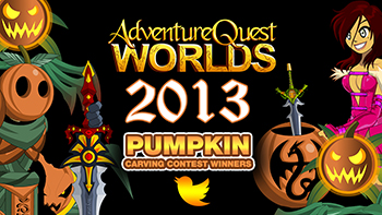 2013 Pumpkin Carving Contest in AdventureQuest Worlds