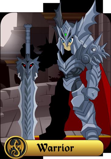 Warrior of AQ Worlds