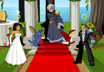 1st AQWorlds Wedding