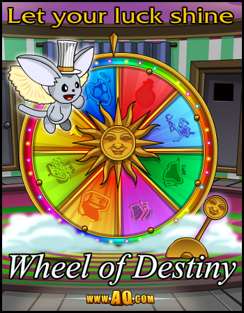wheel of fortune aqw