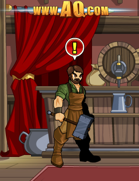 Yulgar in online flash game AdventureQuest Worlds