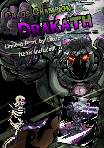 New Chaos Champion Drakath Print