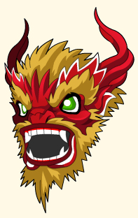 chinese new year dragon helm