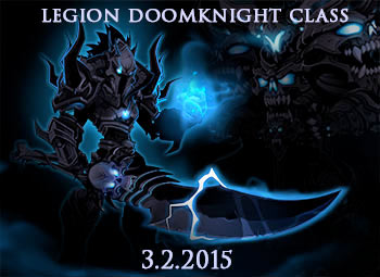new class dage the evil birthday legion doom knight in online mmo game adventure quest worlds