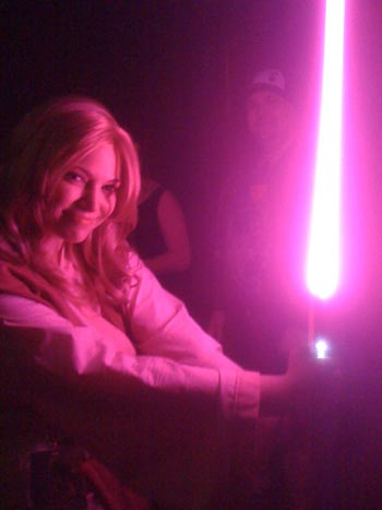 Jemini as Jedi Barbi