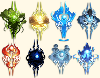 Elemental Orb Capes