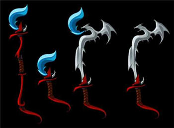 Live Dragon Weapons