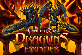 AdventureQuest Dragons Founder