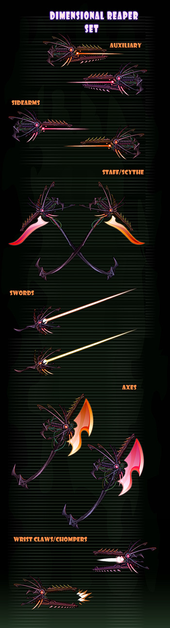 Dimensional Weapons