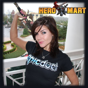 HeroMart real life RPG shirts toys shop epic duel