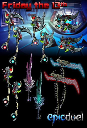 EpicDuel-PvP-browser-MMO-friday-the-thirteenth-all-items