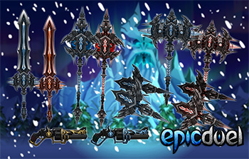 EpicDuel-pvp-mmo-browser-winter-Kezeroth-set