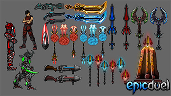 EpicDuel_Browser_PVP_MMO_Theon_Artist_Showcase_Preview