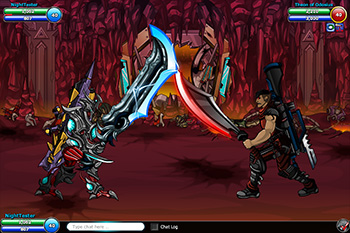 EpicDuel_PvP_Browser_MMO_artist_shop_theon_battle