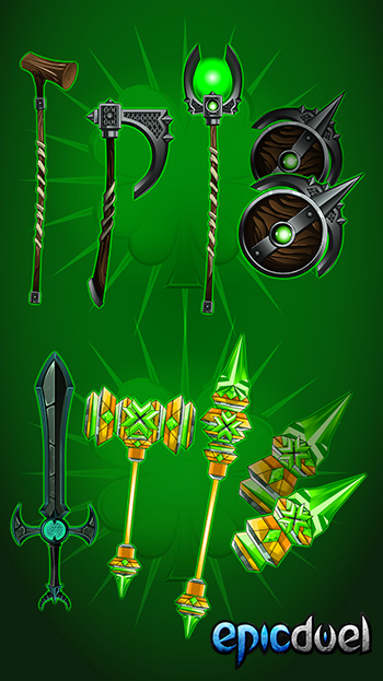 Epic_Duel_St_Patricks_Day_Weapons_DNs