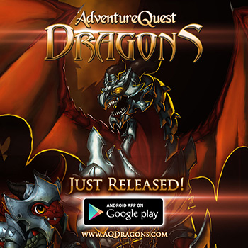 AdventureQuest Dragons Mobile Game