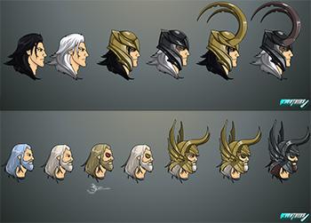 Asgardian styles