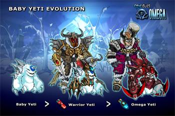 Baby Yeti Evolution
