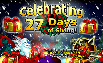 Frozen Fury Holiday Giving