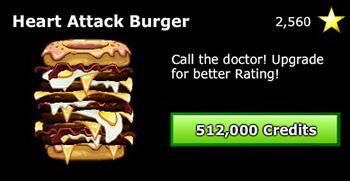 Evolving Burger Achievement Frozen Fury