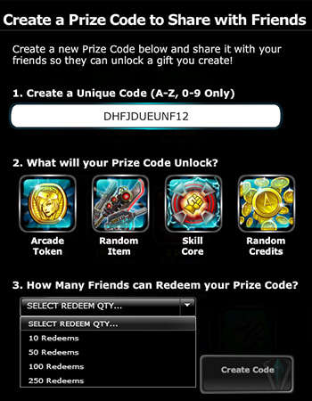 epicduel-pvp-mmo-browser-create-new-prize-code-interface-2015