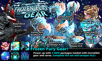 Frozen Fury Part 2 Promotional Gear