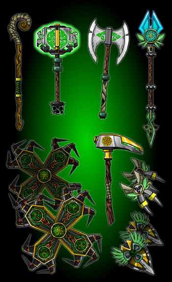 Celtic Weapons
